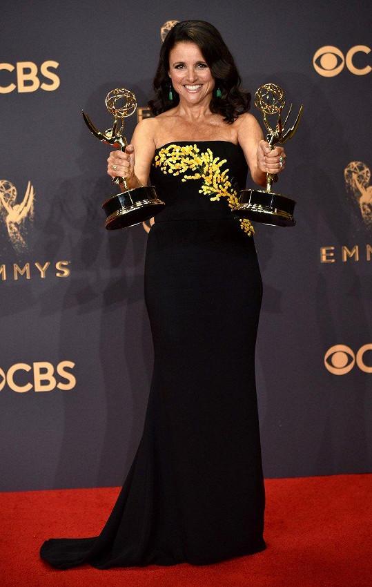 Herečka v září zazářila na udílení cen Emmy.