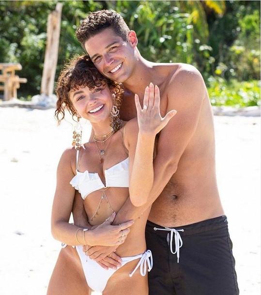 Zasnoubili se loni v létě.