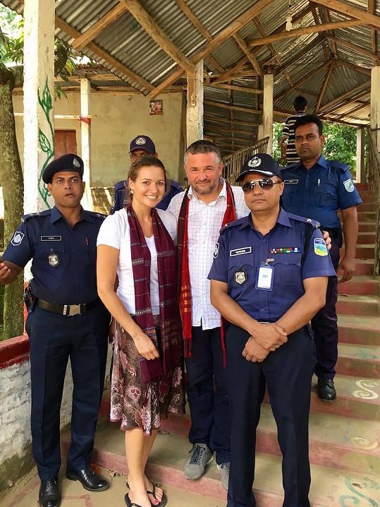 S policisty a přítelem Martinem