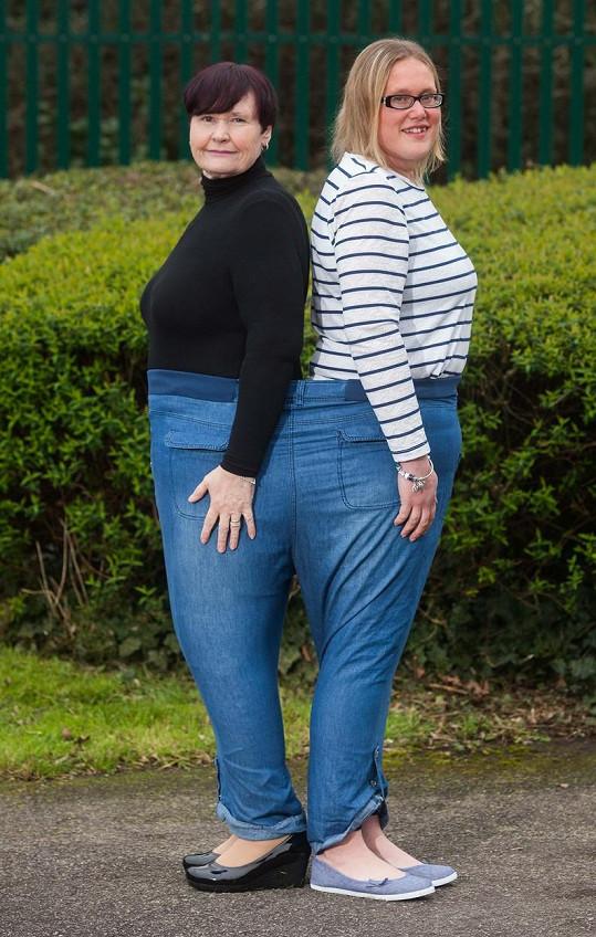 Společně se vejdou do jedněch kalhot.