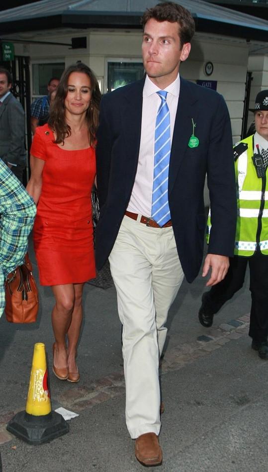 Pippa Middleton a Alex Loudon.