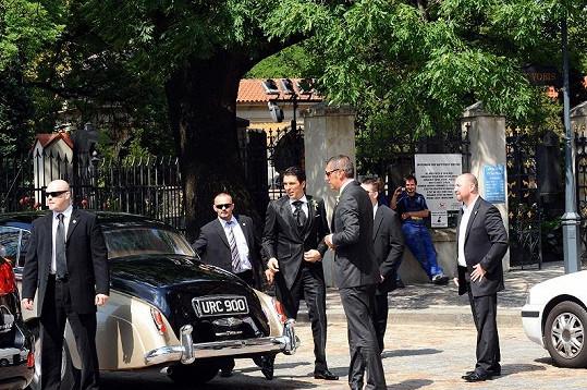 Buffon (uprostřed) potvrdil pověst elegána.