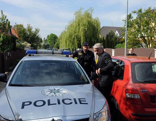 Josef Rychtář nedávno s policií řešil další incident.