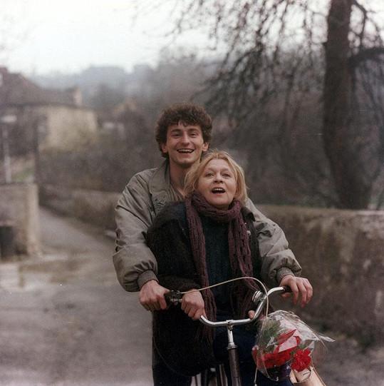 Ondřej Vetchý ve filmu Dům pro dva (1988)