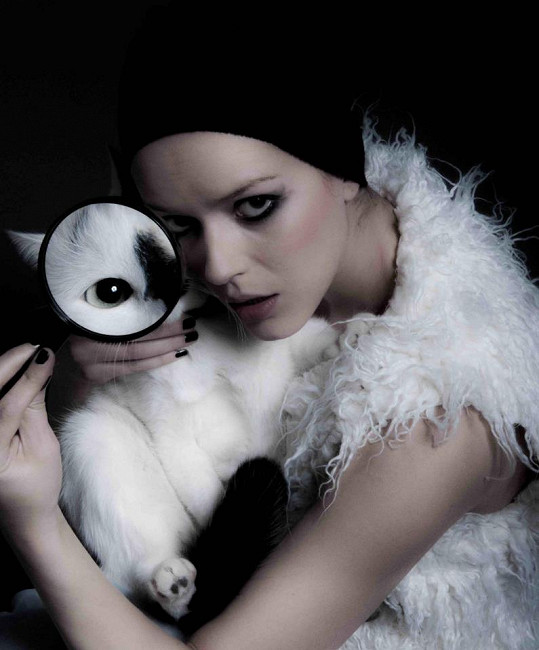 Andrea vyměnila svého milovaného kocourka Kvíka za králíka.