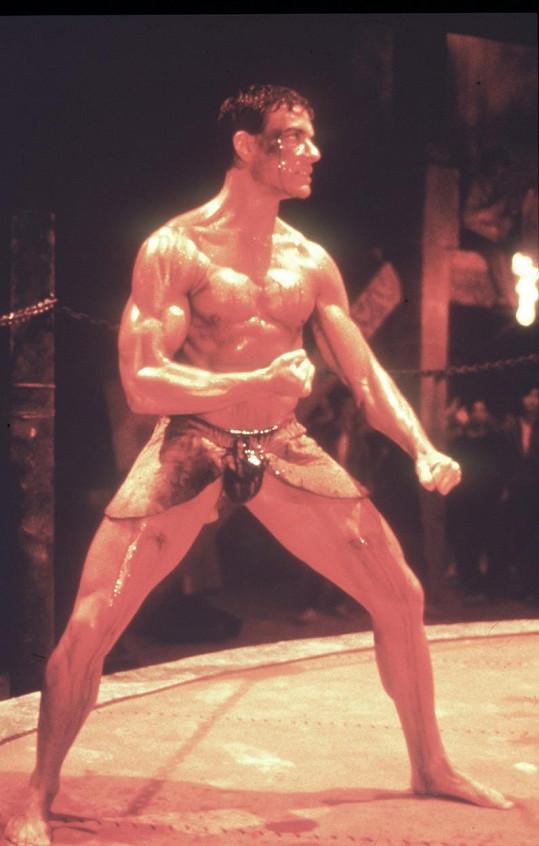Herec ve své životní formě jako Kickboxer