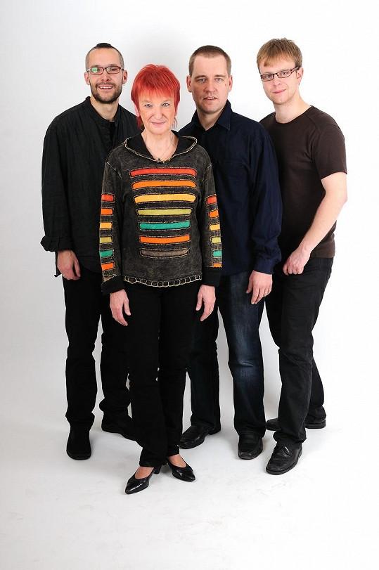 Jana a její kapela.