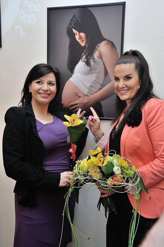 S obrázkem Pavlíny Senič v době těhotenství