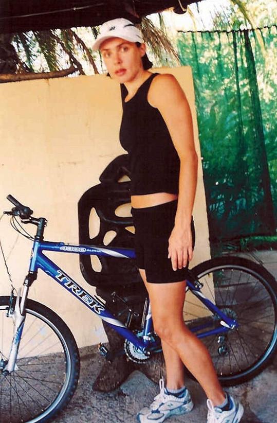 Dřív se matka dvou dětí věnovala běhu, triatlonu a cyklistice.