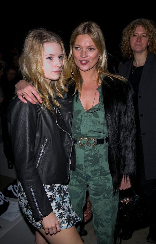 Lottie se sestrou Kate Moss