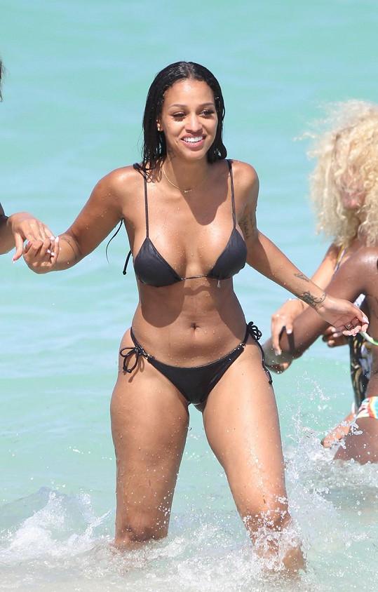 Na pláži v Miami