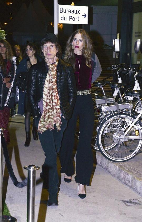 Melanie Hamrick a Mick Jagger čekají první dítě.