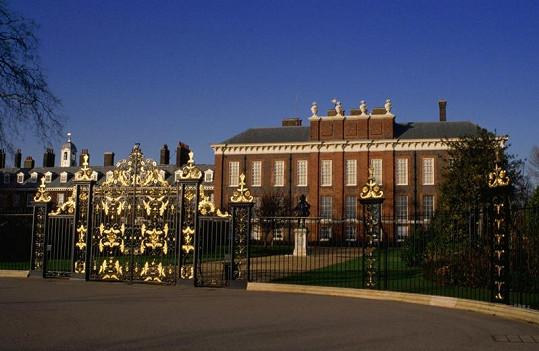 Kensingtonský palác, nový domov Williama a Kate.