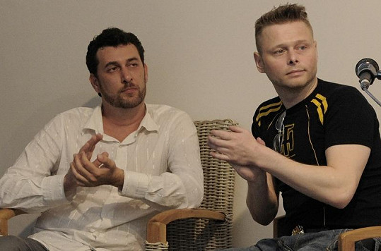 Domenico Martucci a Jarek Šimek v brněnském SOHO.