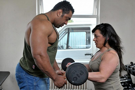 Rob s Vandou cvičí nejméně čtyři hodiny denně.