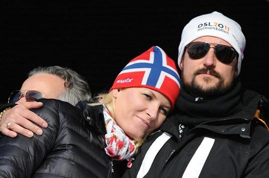 Korunní princezna Mette-Marit s manželem princem Haakononem.