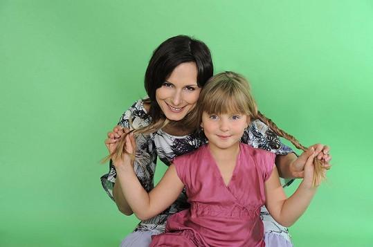 Zdeňka Žádníková Volencová s nejstarší dcerou Andreou.