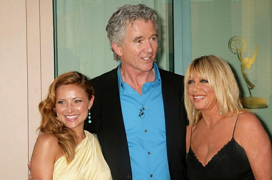 Zleva: Christine Lakin, Patrick Duffy a Suzanne Somers