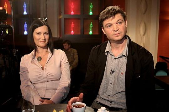 Mirka Čejková a Lukáš Pollert.