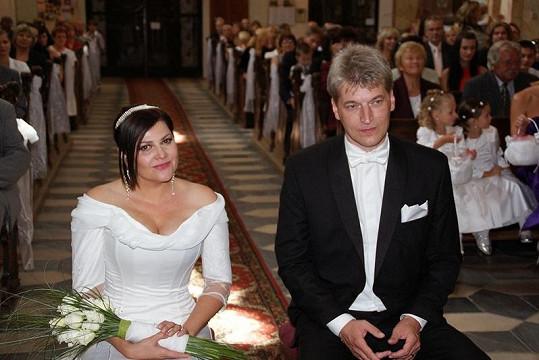 Ilona se vdávala loni v srpnu.