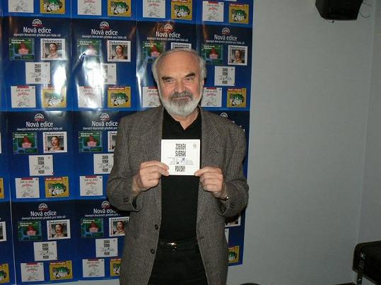 Uhlířovi svědčil na svatbě Zdeněk Svěrák.