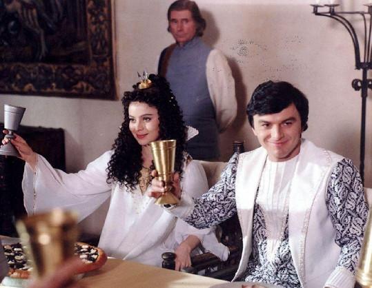 Šafránková si s Trávníčkem zahrála i v Třetím princi (1982).