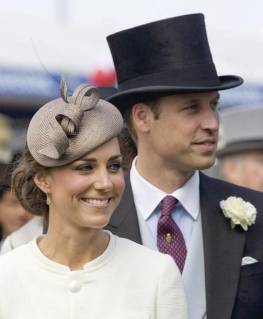 William a Kate, vévoda a vévodkyně z Cambridge.