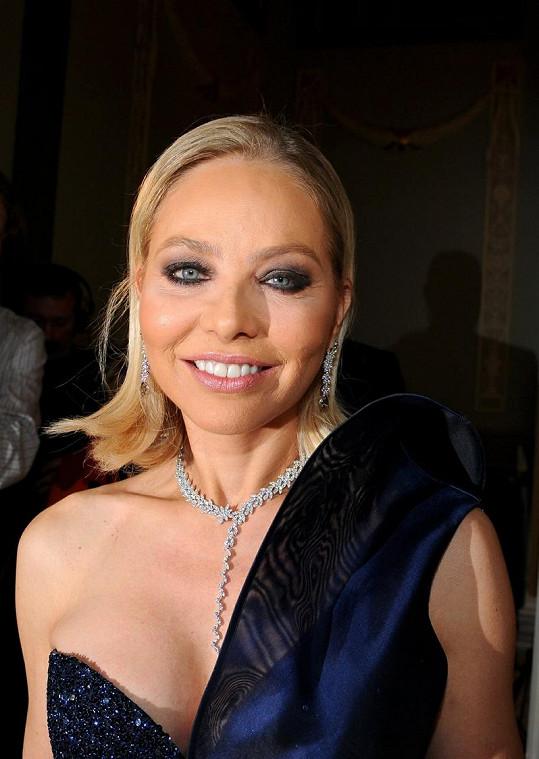Herečka a bývalá modelka Ornella Muti.