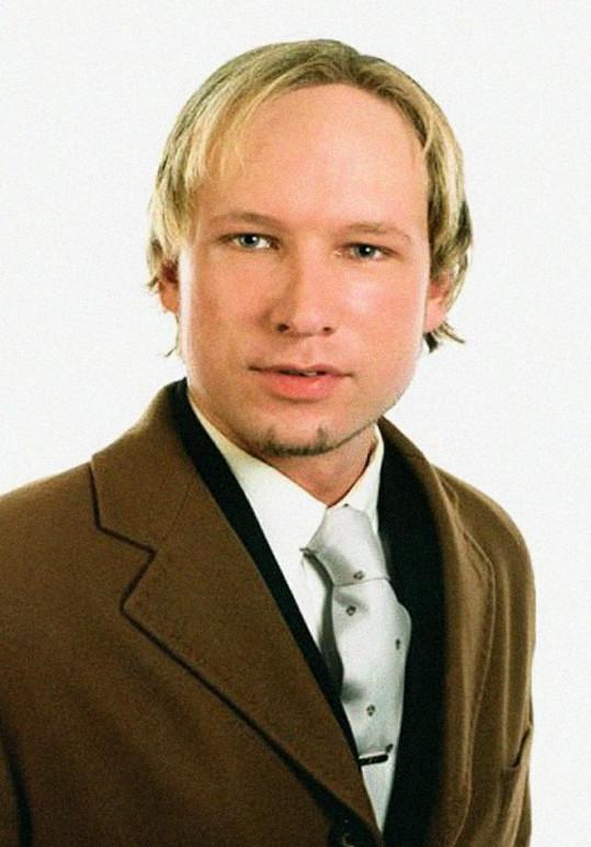 Pomatený střelec Behring Breivik.