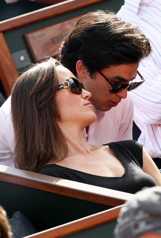 Pippa Middleton s tajemným mužem.