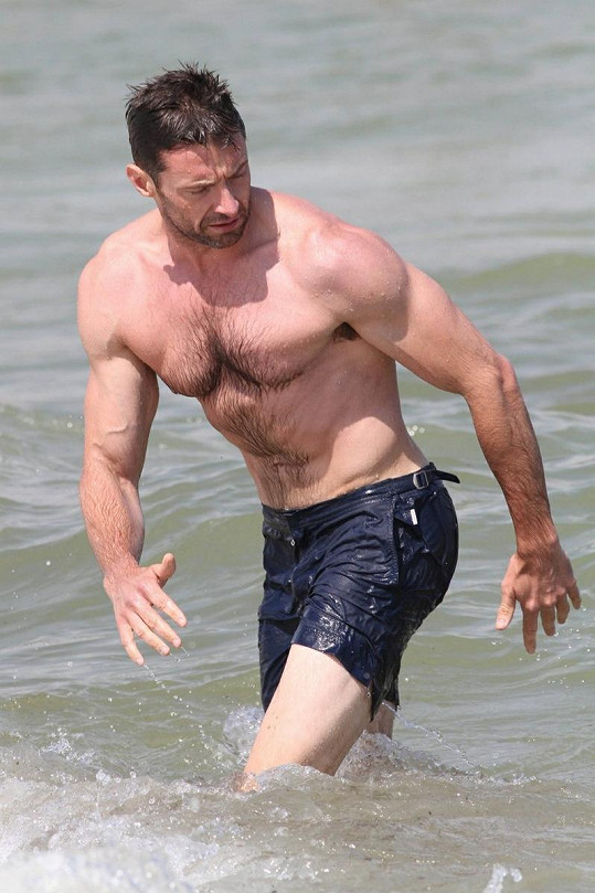 Hugh Jackman je stále ve formě.