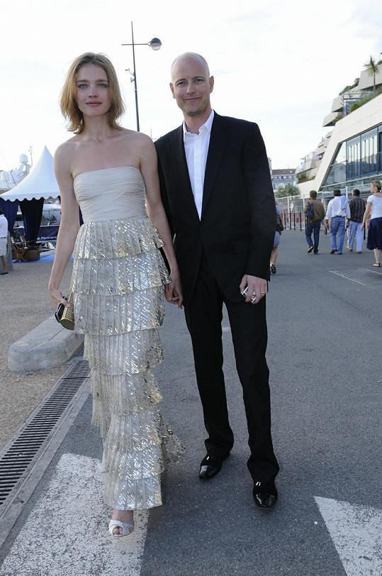Natalia a Justin před třemi lety v Cannes.