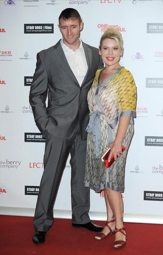 Tina s manželem Paulem