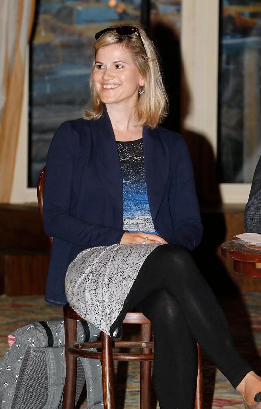 Adéla Šotolová je dcerou Elišky Balzerové.