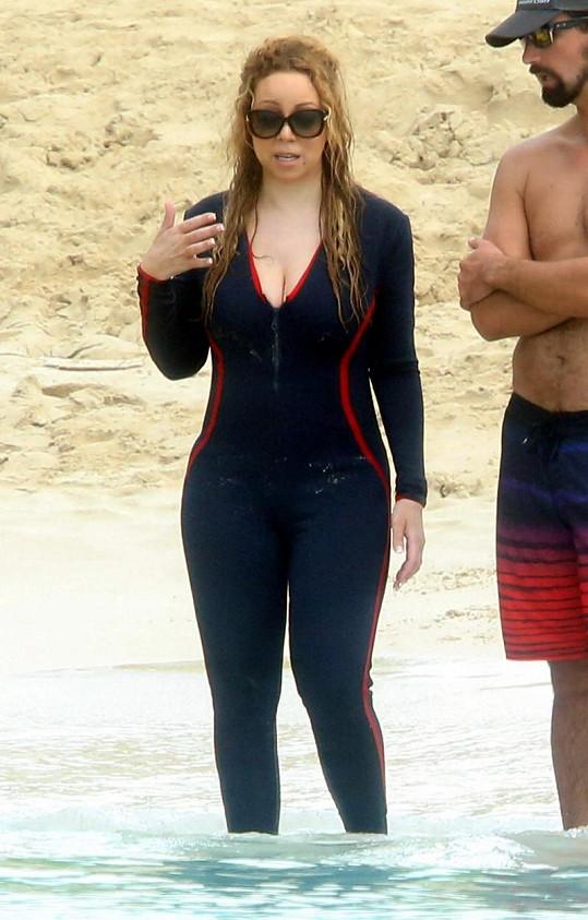 Mariah Carey v Karibiku