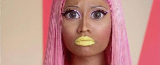 Nicki Minaj v novém klipu.