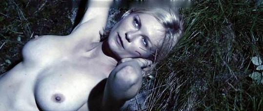 Kirsten hraje ve snímku Larse von Triera nevěstu Justine.