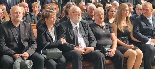 Bratr Jan s manželkou Pavlínou a sestrou Lídou