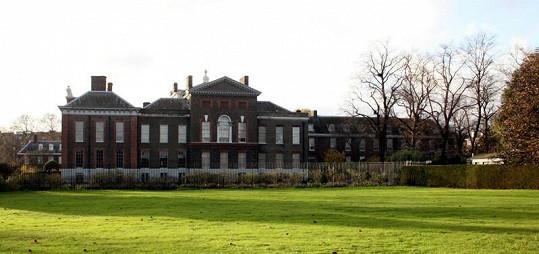 Ke Kensingtonskému paláci patří i velké zahrady.