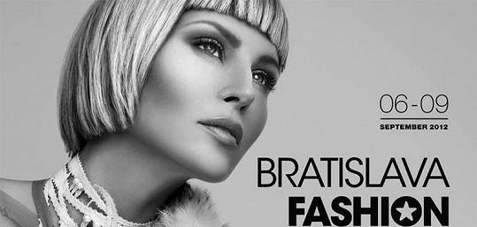 Simona Krainová ja tváří fashion weeku v Praze i Bratislavě.