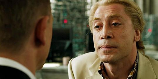 Javier Bardem byl ve filmu Skyfall blonďák.