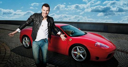 Leoš Mareš se vzdal svého Ferrari za dvě stovky