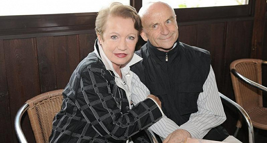 Hana Maciuchová s Bořivojem Navrátilem.
