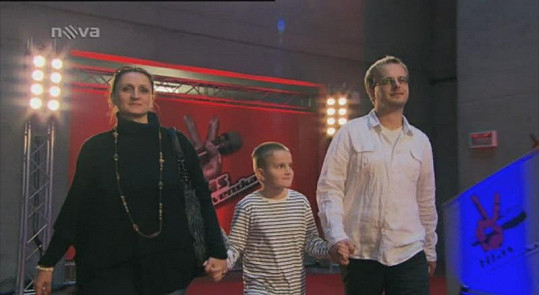 Viktor Nižník s manželkou Lucií a synem Benjamínem.