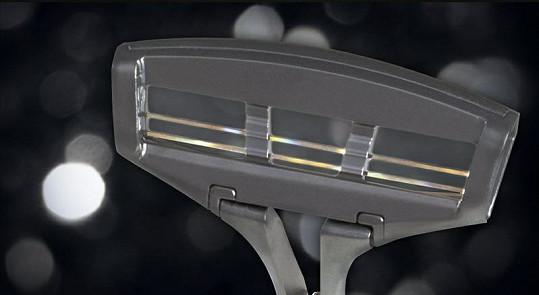 Čepel je vyrobená ze vzácného iridia získávaného z meteoritů.