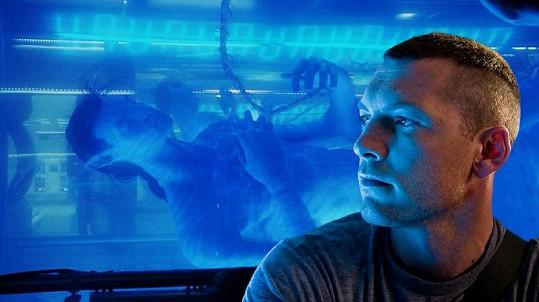 Herec ve své nejslavnější roli ve filmu Avatar.