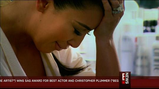 Kim Kardashian nezvládla psychický nápor kvůli nevydařenému manželství.