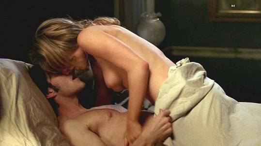 Vášnivé milování Anny Paquin v seriálu True Blood: Pravá krev.