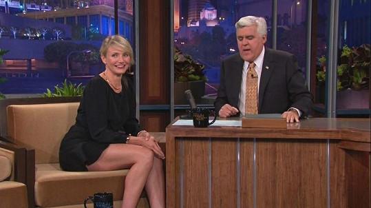 Cameron prozradila v talk show pikantnosti z kadeřnického salónu.