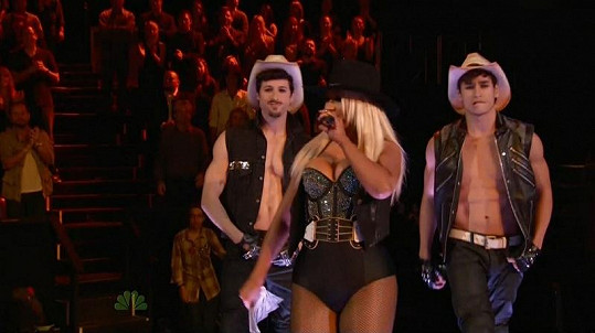 Christina Aguilera v americkém Hlase.